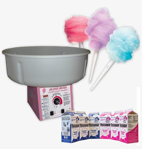Commercial grade cotton candy machine
