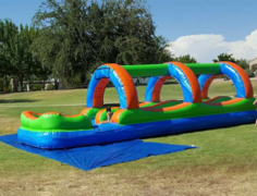 32 ft dual lane slip n slide