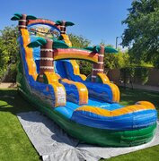 Just Arrived! Tiki Plunge Water Slide