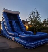 Just Arrived! Blue Tsunami Water Slide