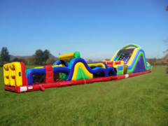 New! 70ft Radical Run Ninja Obstacle Course