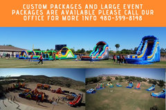 Call Today for custom packages and large events!