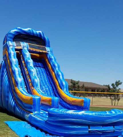 20ft Rockin Riptide waterslide