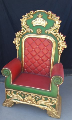 Santa Throne Chair