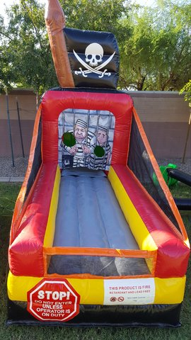 inflatable toss game