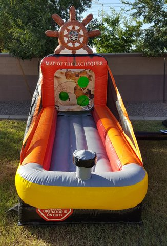 inflatable tee ball game