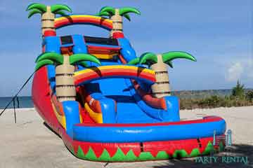 inflatable water slides naples fl