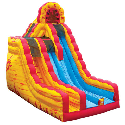 Fire-N-Ice Dry Slide