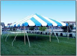 20x40 pole tent package 1