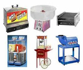 Concession equipment rental toledo