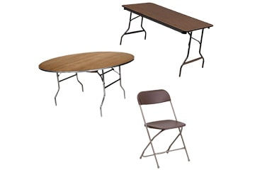 Table and chair rentals toledo