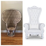 Peacock Chair/Throne Chairs