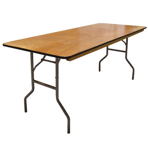 6FT. RECTANGLE TABLE (WOOD)