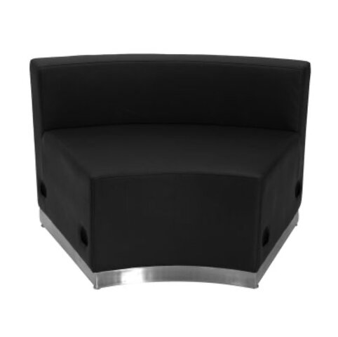 CONCAVE LEATHER LOUNGE SEAT