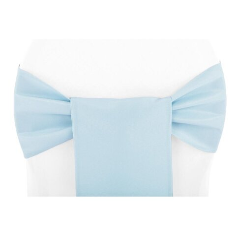 BABY BLUE CHAIR SASH