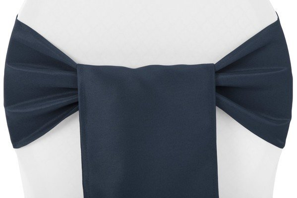 NAVY BLUE CHAIR SASH