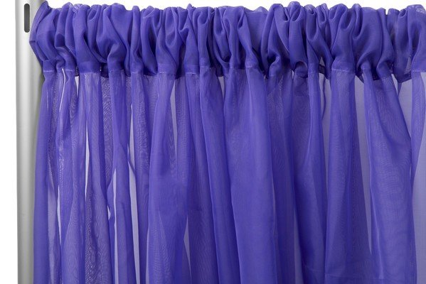 10FT PURPLE SHEER PANELS