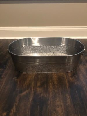 Stainless Steel Drink Tub