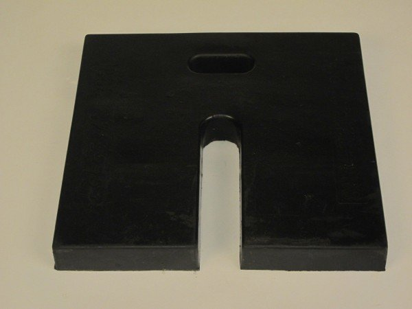 Rubber Base Weights
