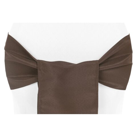 CHOCOLATE/BROWN CHAIR SASH