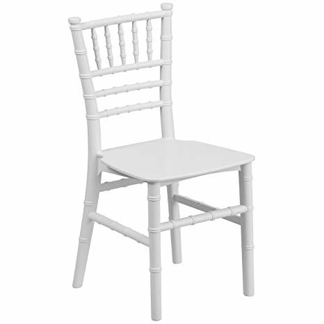 Kids White Chiavari Chair