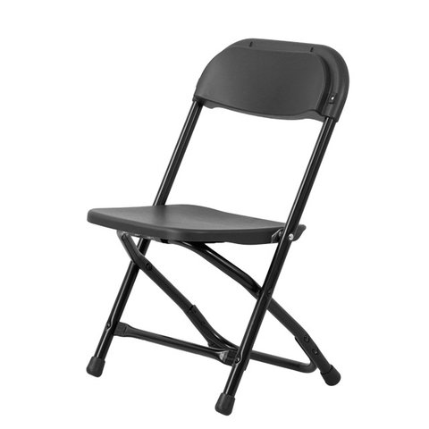 Kids Black Folding Chair