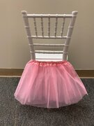 PINK TUTU FOR KIDS CHAIRS