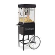 4oz Black Popcorn Machine