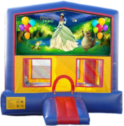 New Princess and the Frog Bounce House