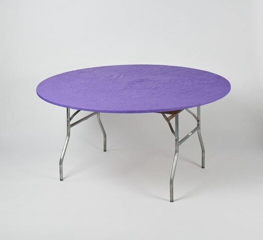 60' Round Kwik-Cover Purple
