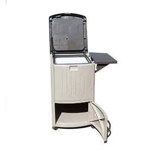Outdoor Beverage Cooler Cart