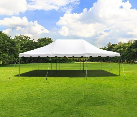 20' x 30' White Canopy
