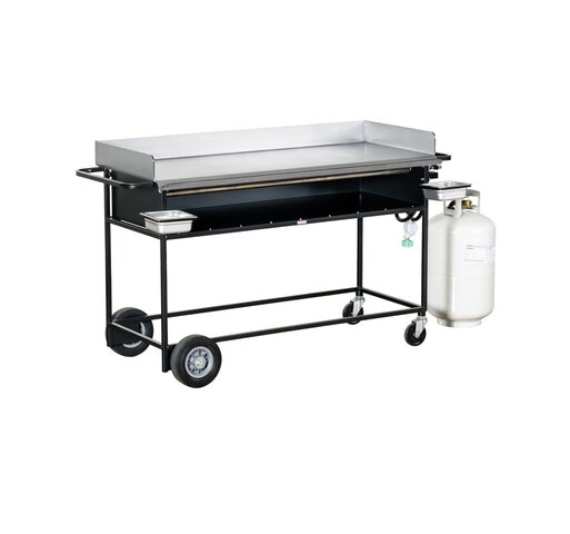 5' Propane Grill with Griddle attachment