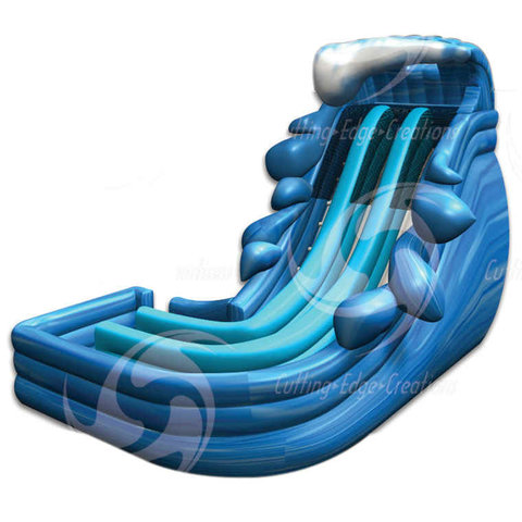 20' Dual Super Splash Slide