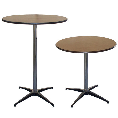 30in Pedestal Tables