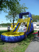 15' Inflatable Water Slide