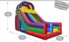 18' Inflatable Wacky Mini Slide