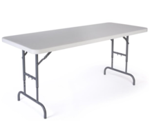 6ft Adjustable Banquet Table