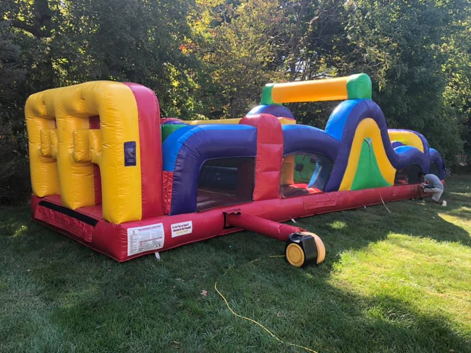 obstacle course rental Anderson Township Ohio