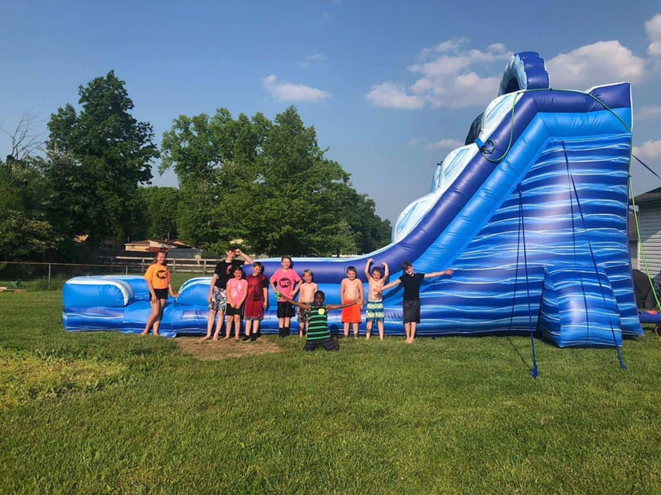 water slide rentals Anderson Township Ohio