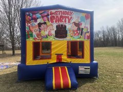 Birthday Party Themed Bounce House