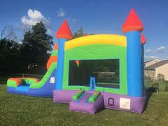 Wet or Dry Bounce House Slide Combo, Concession Machine & Game