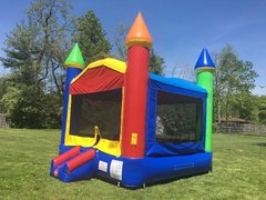 Rainbow Bounce House, Concession Machine & Game