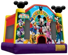 Mickey Mouse Bounce House & Choice of Concession Machine
