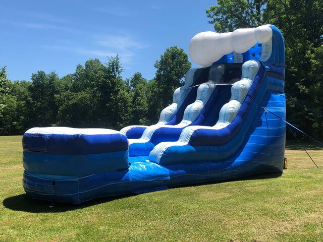 15' Tidal Wave Water Slide