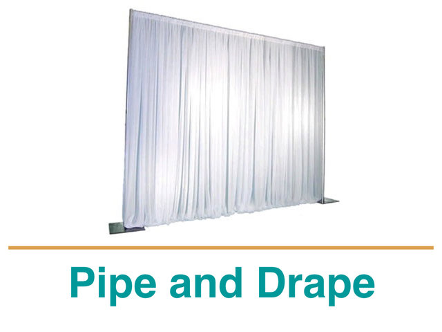 Pipe and Drape