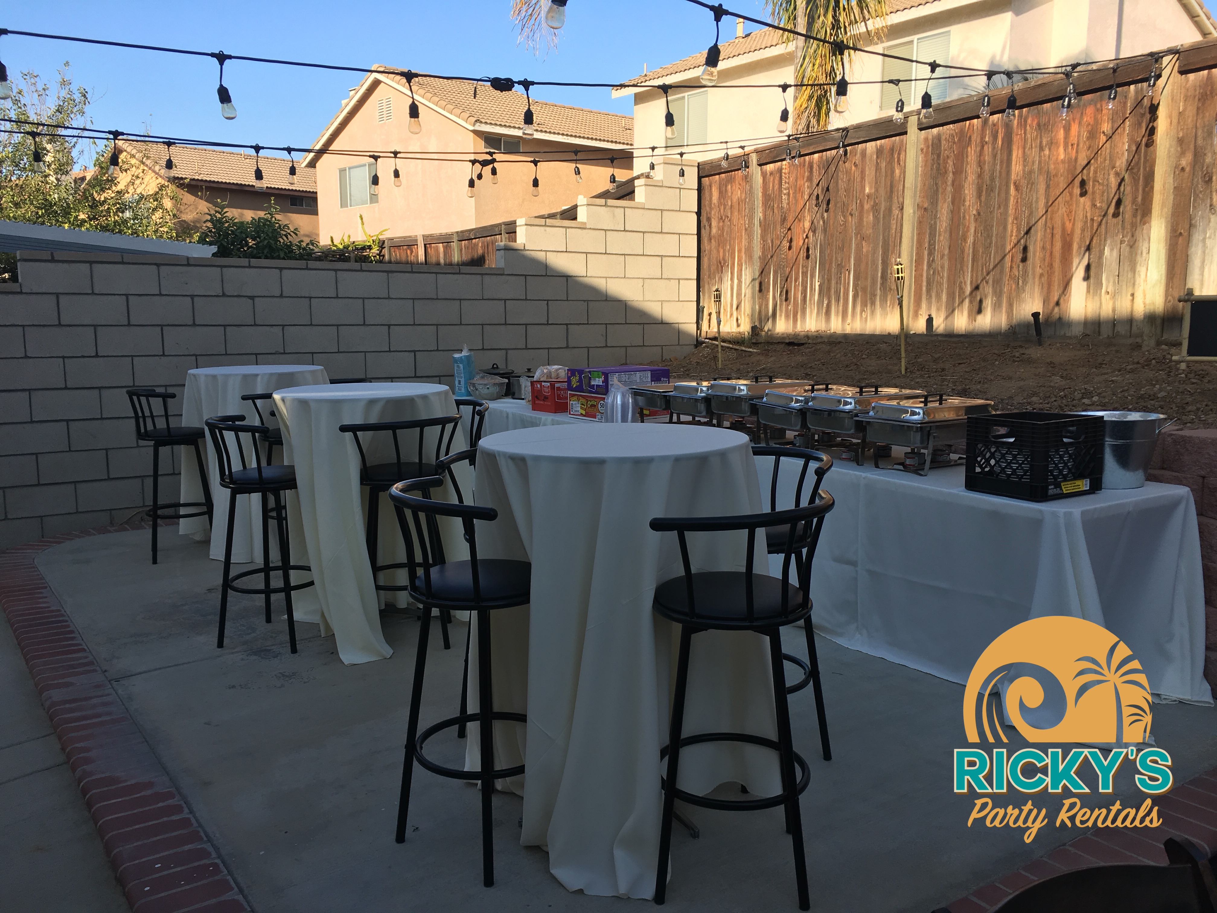 Ricky's Party Rentals | Inland Empire & Surrounding