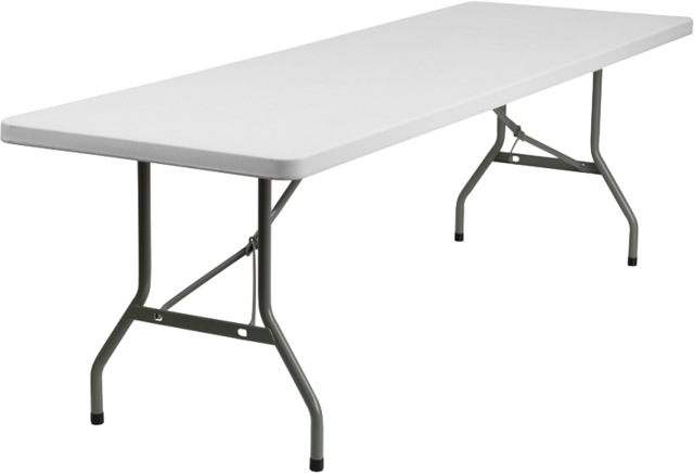 8ft Long Table