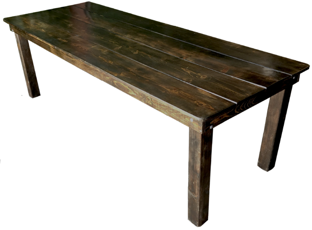 Table - 8ft Fruitwood Farm Table