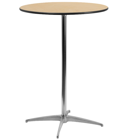 36in Round Cocktail Table (42in Tall)